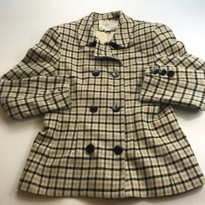 Vintage Christian Dior 80's Suit Jacket